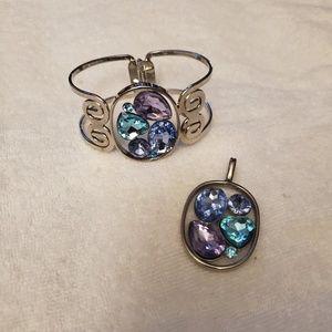 Parklane bracelet and pendant